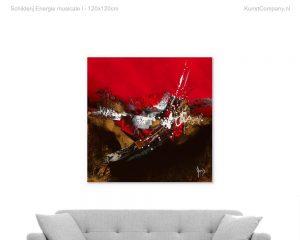 schilderij energie musicale i