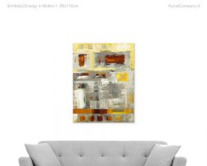 schilderij energy in motion i