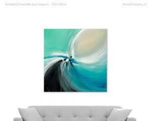 schilderij ensemble pour toujours