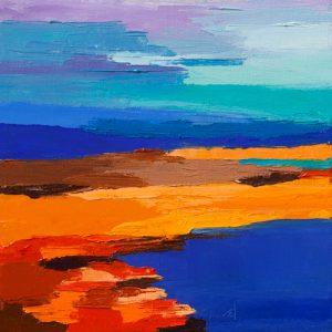 schilderij entre ciel et mer