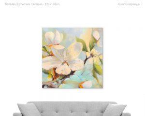 schilderij ephemere floraison