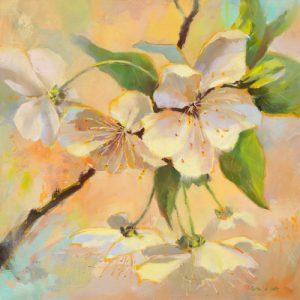 schilderij ephemere floraison i