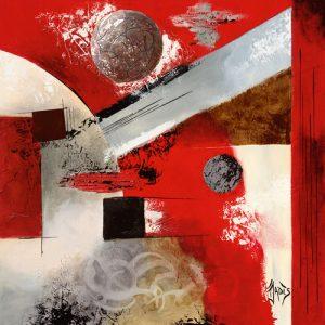 schilderij evolution planetaire ii