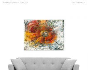 schilderij explosion