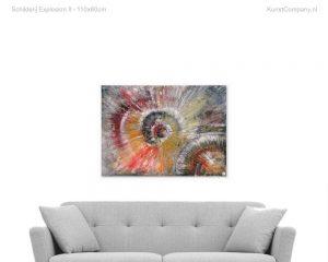 schilderij explosion ii