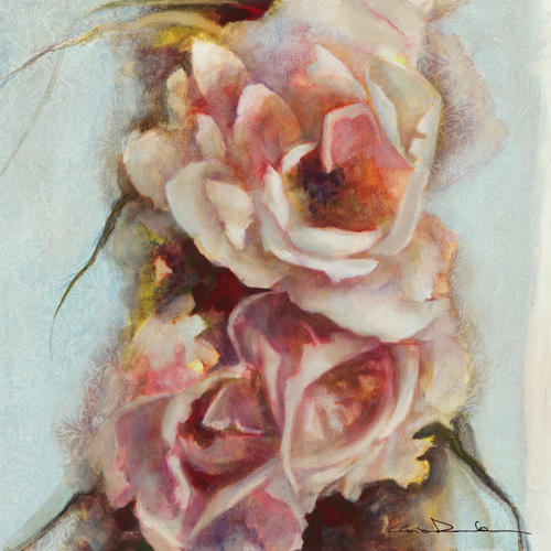 schilderij exuberance de printemps ii