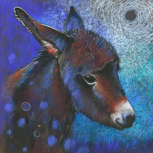 schilderij ezeltje