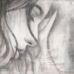 schilderij face iii