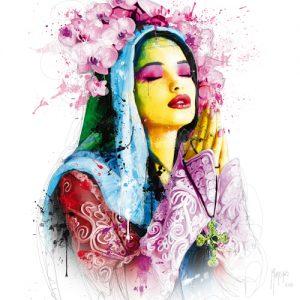 schilderij faith