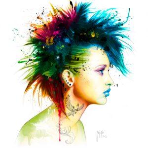 schilderij fashion punk