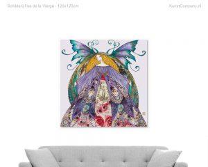 schilderij fee de la vierge