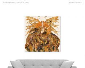 schilderij fee du lion