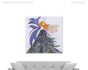 schilderij fee du scorpion
