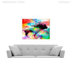 schilderij feria del toro