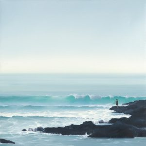schilderij fisherman ii