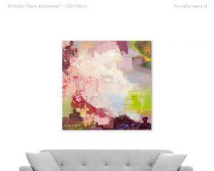schilderij fleurs de pommier i