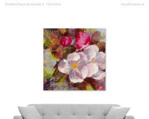 schilderij fleurs de pommier ii