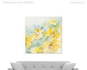 schilderij fleurs du soleil ii