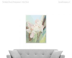 schilderij fleurs printanieres ii