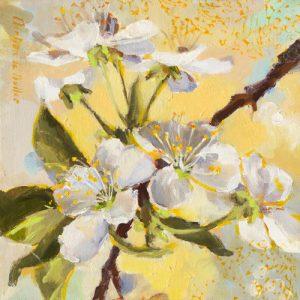 schilderij floraison jaune i