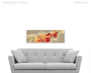schilderij flowers i