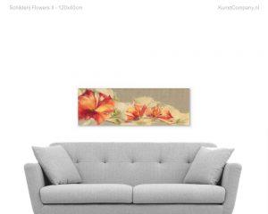 schilderij flowers ii