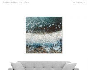 schilderij foot wave