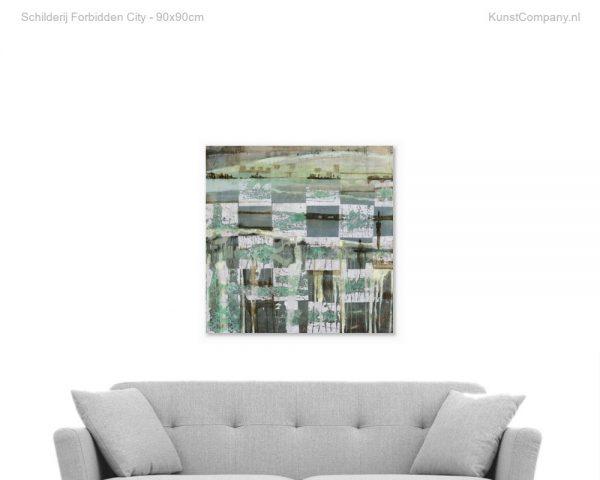schilderij forbidden city