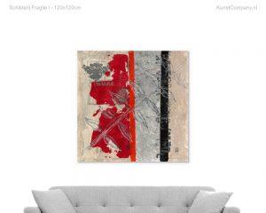 schilderij fragile i
