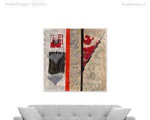 schilderij fragile ii