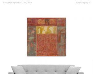 schilderij fragmente ii