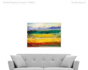 schilderij fragrance of august