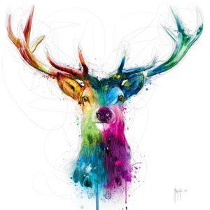 schilderij free and wild