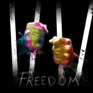 schilderij freedom