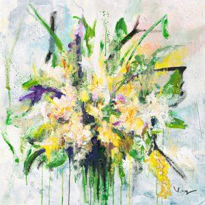 schilderij fresia