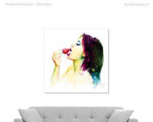 schilderij fruity kiss i