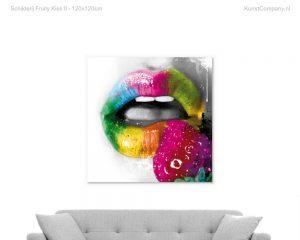 schilderij fruity kiss ii