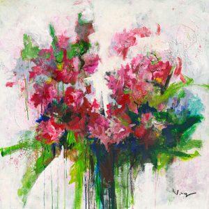 schilderij fuchsia