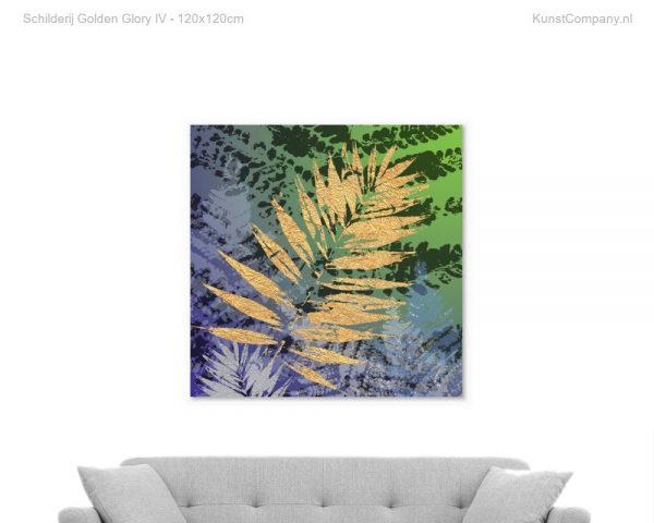 schilderij golden glory iv