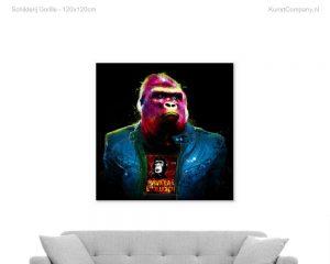 schilderij gorille