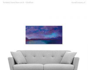 schilderij grand baie nuit iii