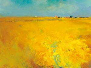 schilderij harvest time