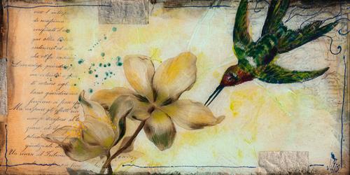schilderij helleborus