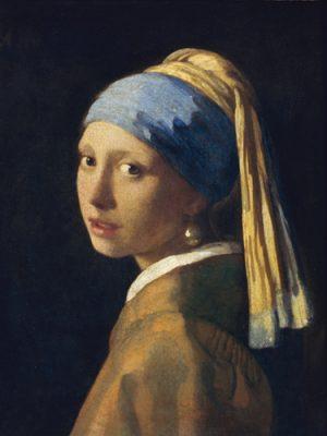 schilderij het meisje met de parel