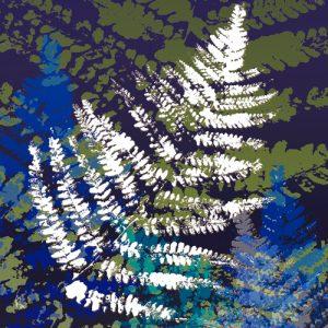 schilderij hidden silver