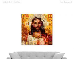 schilderij holy