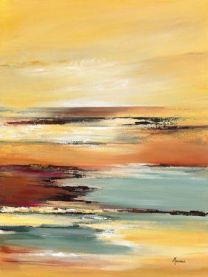 schilderij horizon sur letang i
