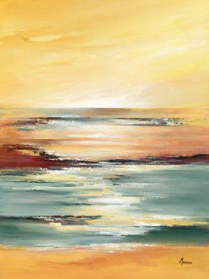 schilderij horizon sur letang ii
