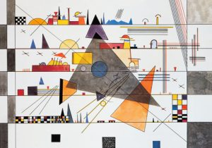 schilderij horizontale