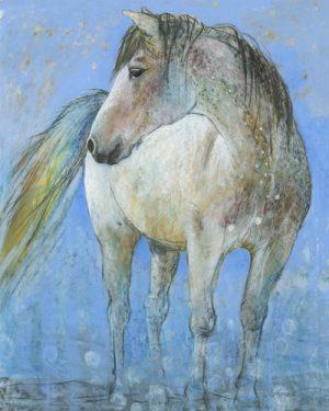 schilderij horse